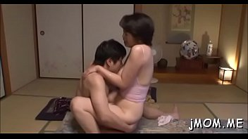 Large titted oriental mature gets fucked hard in doggystyle