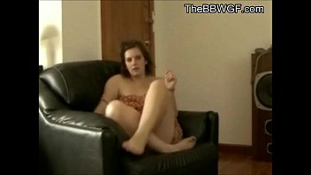 naughty big lush fapping and nutting on her couch