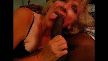 mature silver-blonde professing her love for blaco fellow sausage