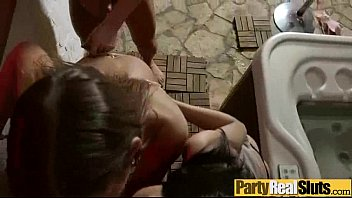 Hard Group Sex Tape After Party With Slut Real Girls (aida suzie) video-03
