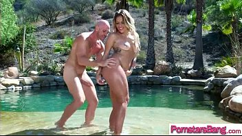 Sex Action On Camera With Big Long Cock In Wet Holes Of Pornstar (Kissa Sins) video-06