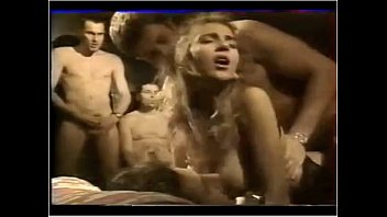 Who is she ?? french cocktail party gangbang
