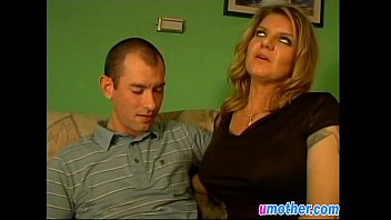 Lusty Mother With Big Tits Seduces Guy And Gets Screwed In Living Room