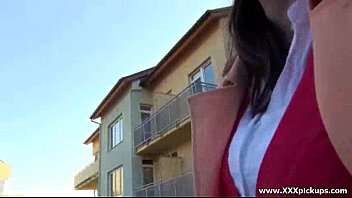 Public Hardcore Sex - Sexy young babes fucked outside in public 10