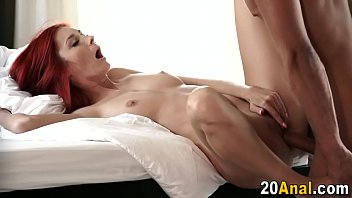 ginger-haired gets donk nailed