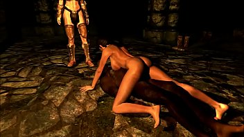 skyrim lets have fun ares god of war.