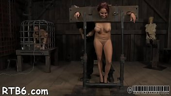 Facial and pussy torture for sweetheart