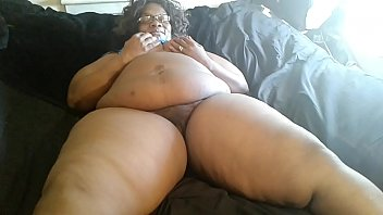 Ms Ann aka Aunt Dee Getting ready for her 3 Young Latino Big dicks