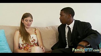daughter-in-law pounds her ebony daddy 485