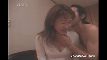 Asian seductress gets hot boobs licked and sucked