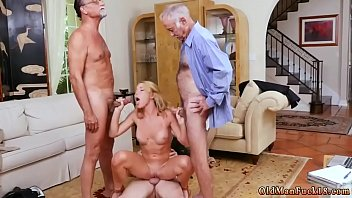 Petite blonde gagging Frannkie And The Gang Tag Team A Door To Door