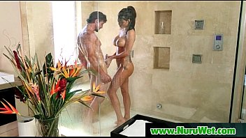 spectacular masseuse gives nuru rubdown with glad end 24