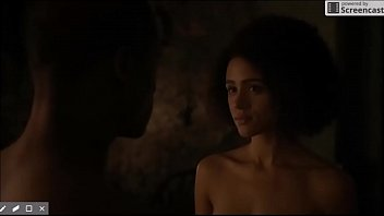 nathalie emmanuel and jacob anderson in game of thrones