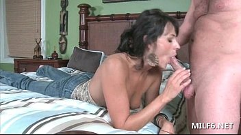 uber-cute mother providing deep mouth and getting her.