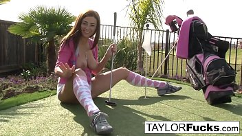 taylor displays you her large jugs