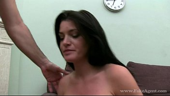 massive-boobed french doll in casting pummel