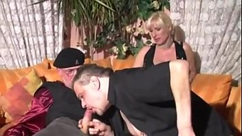 German Blonde Amateur Threesome
