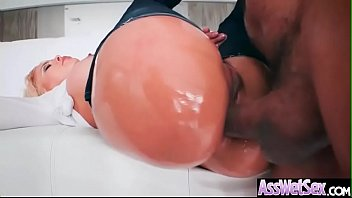 (Luna Star) Slut Girl With Big Oiled Butt Get Hard Anal Sex movie-21