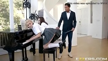 chloe cherry and joseline kelly in kittling the ivories