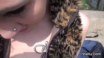 flawless czech nymphomaniac gets seduced in the mall.