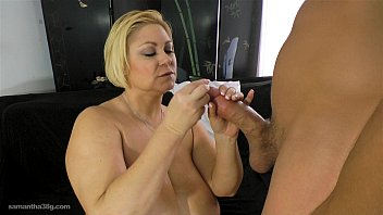 cougar plumper samantha 38g pays boy to plow her