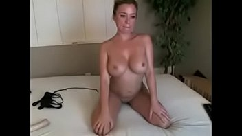 perky cougar with big orbs frigs herself to ejaculation