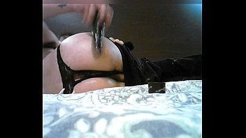 stoned sissy frolicking in motel apartment