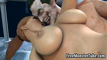 hefty-titted 3 dimensional stunner getting humped firm by.