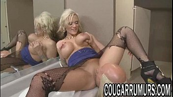 Blonde MILF gets her tight pussy fucked