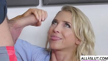 silver-blonde alix luvs railing chad yam-sized jism-shotgun - all4slutcom