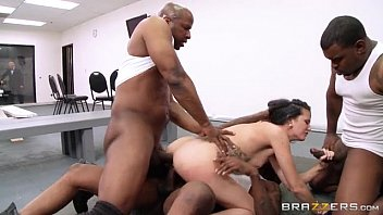 jail wifey interacial gang-drill