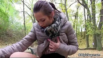 Public Pickup Porn With Sexy European Teen Amateur 14