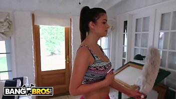 BANGBROS - Young Teen Latina Carrie Brooks Is My Dirty Maid