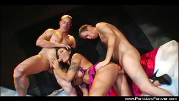 assfucking double foray three way with mischievous orgy.