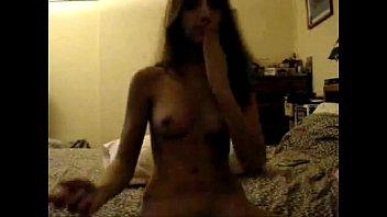 Innocent brunette teen fingering on cam - freechicks.webcam