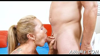 lustful mature is antsy about wood