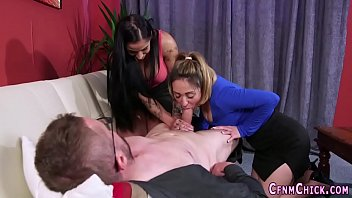 dominas jacking bare dude