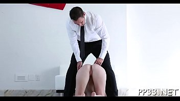 Hardcore fucking with pleasant chick