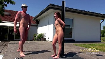 outdoor lovemaking mit kleinem teenage chick