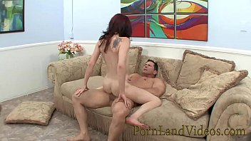 skinny redhead whore Jessie Palmer having fun with huge cock