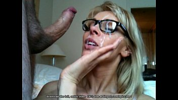 gorgeous cougar takes monstrous cumload on.