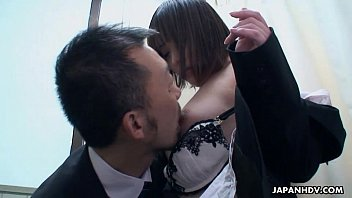 Asian babe fingered and fondled after the time machine still