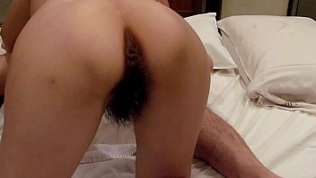 Homemade my slut wife hairy pussy