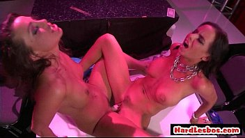 good-sized-chested killer lezzie hard-core pound vid.