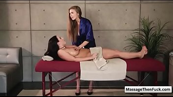 Fantasy Sex Massage - Undercover Expose with Lena Paul and Angela White massage video-02