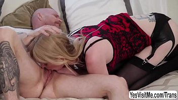 transsexual sweetie mandy mitchell makes out with buck.