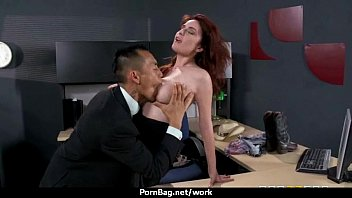Sexstar secretary analized in the office! 11