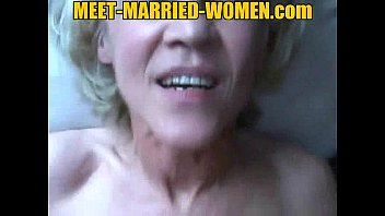 Blonde mature married hot amateur suck and fuck