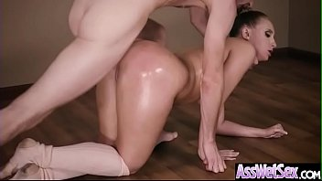 (Harley Jade) Big Butt Oiled Girl Love Deep Hard Anal Sex clip-17