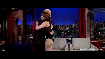 tina fey in late display with david letterman 2009-2015